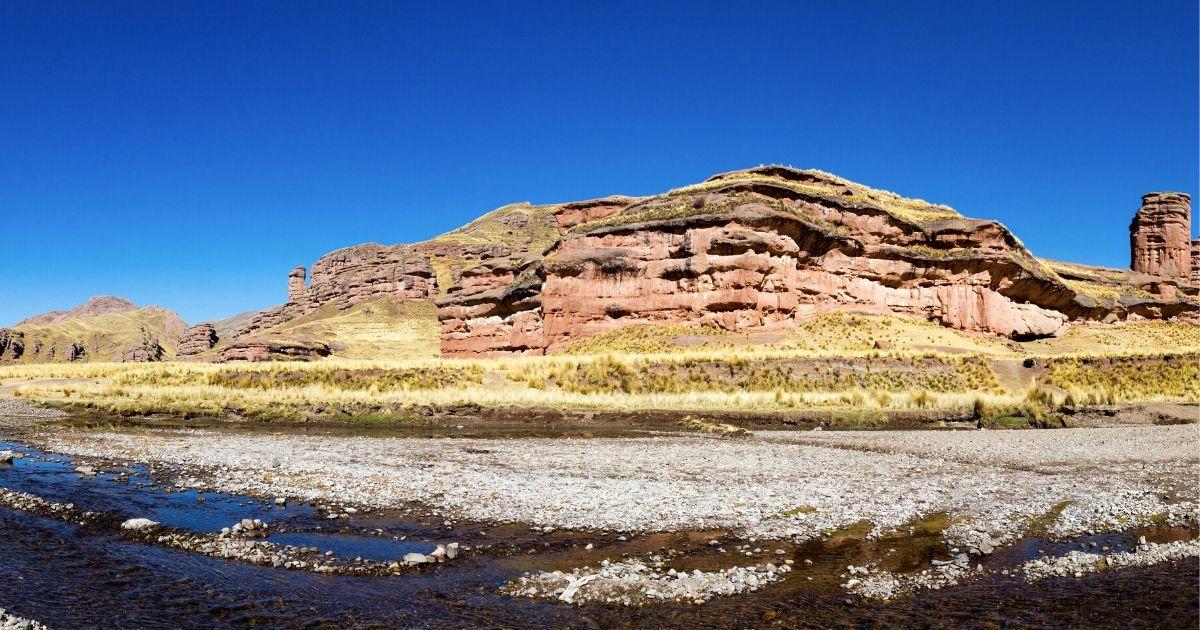 Peru南部:巨人が石化した!?伝説を残す奇石【ティナハニ渓谷 ...